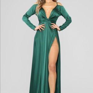 Green Hurt To Look Dress